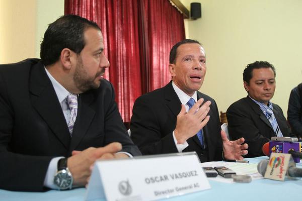 """Acción Ciudadana denuncia que Guatecompras es mal utilizado por funcionarios de Gobierno. (Foto Prensa Libre: E. García) <br _mce_bogus=""""1""""/>"""