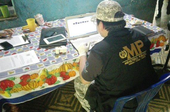 La Unidad contra la Pornografía Infantil detectó el origen del material que compartía Heber Machan. Foto Prensa Libre: MP