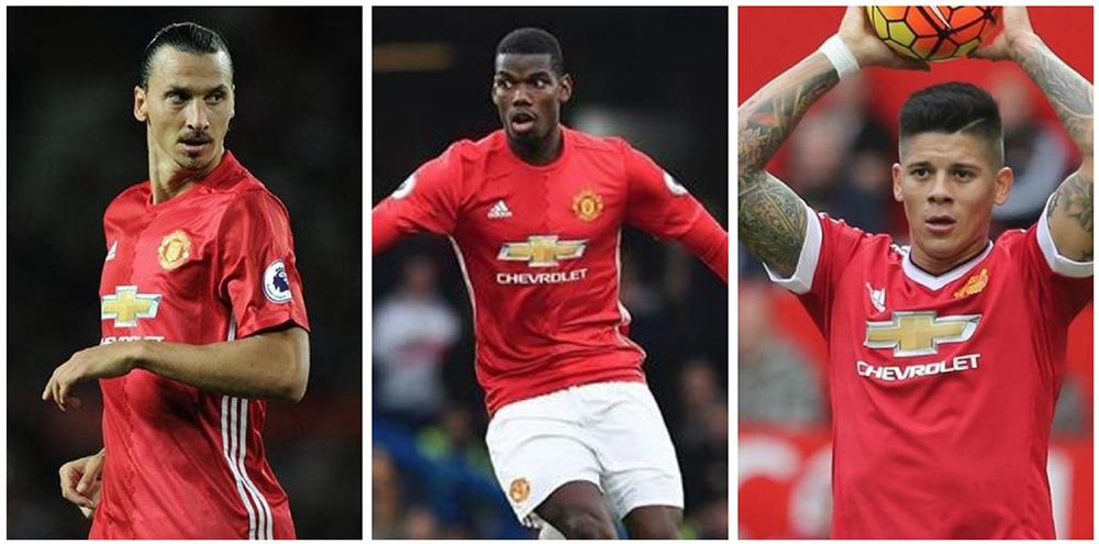 El Manchester United tendrá a disposición este fin de semana a Zlatan Ibrahimovic, Paul Pogba y Marcos Rojo. (Foto Prensa Libre: Hemeroteca PL)