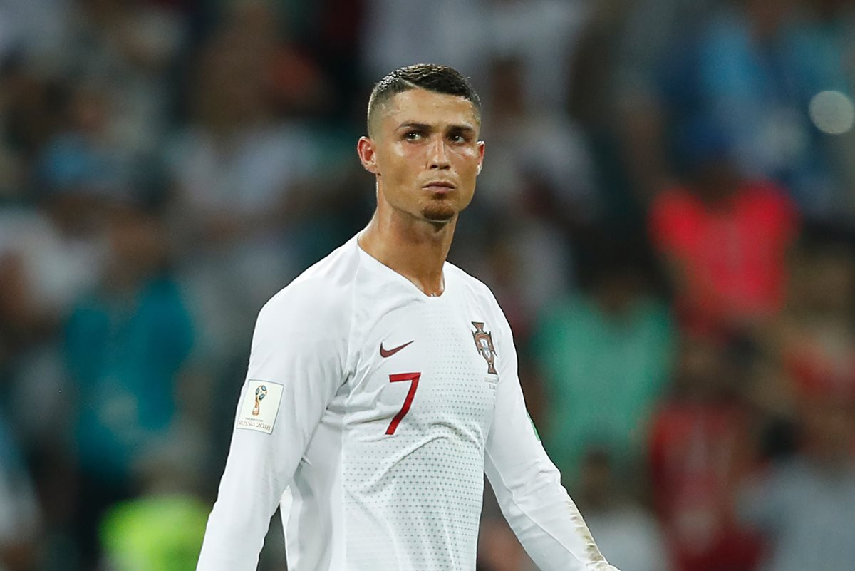 Cristiano Ronaldo tuvo un Mundial goleador pero muy corto, ya que hoy fue eliminado por Uruguay. (Foto Prensa Libre: AFP)