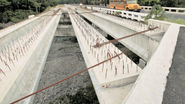 La obra a la que se comprometió Odebrecht se encuentra inconclusa. (Foto Prensa Libre: Hemeroteca PL)