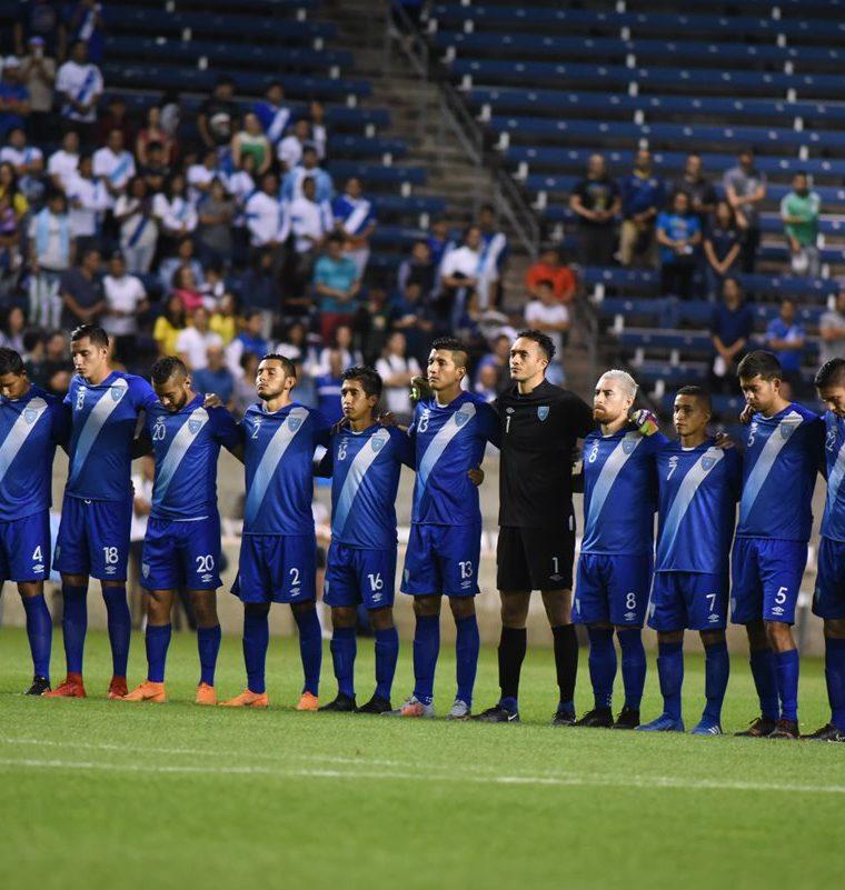 La Selección Nacional vivió un momento especial en el Toyota Park, en Chicago. (Foto Prensa Libre: Wilfredo Girón)