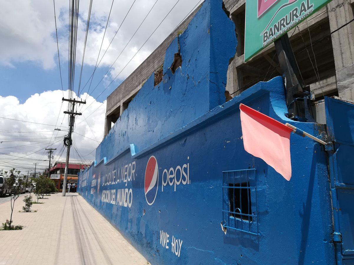 El estadio Mario Camposeco no sufrió daños en su estructura. (Foto Prensa Libre: Raúl Juárez)