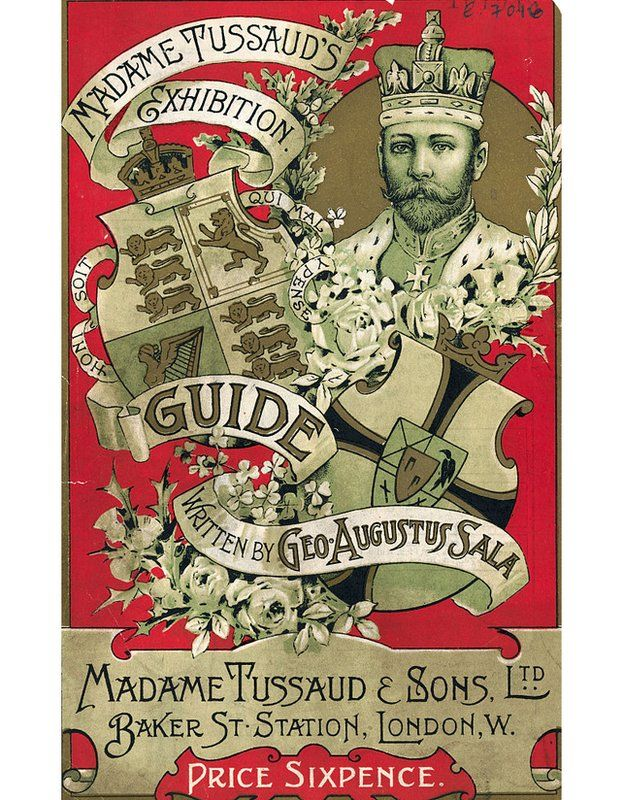 Portada del catálogo de la exposición de Madame Tusssaud e hijos en Baker Street. GETTY IMAGES