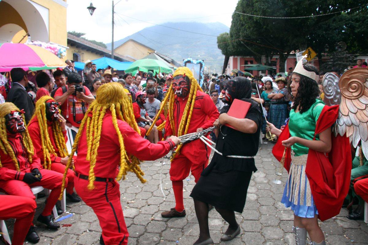 Ciudad Vieja celebra a Virgen de Concepción con Danza de los 24 diablos