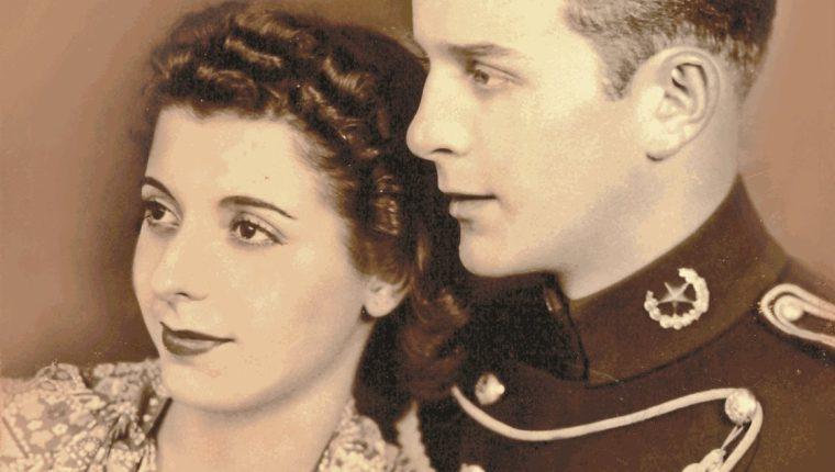 María Cristina Vilanova y Jacobo Árbenz. (Foto: Hemeroteca PL)