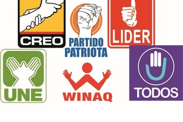 Varios partidos políticos guatemaltecos que emplean manos en sus logotipos han ganado las elecciones presidenciales (Foto Prensa Libre: Archivo).