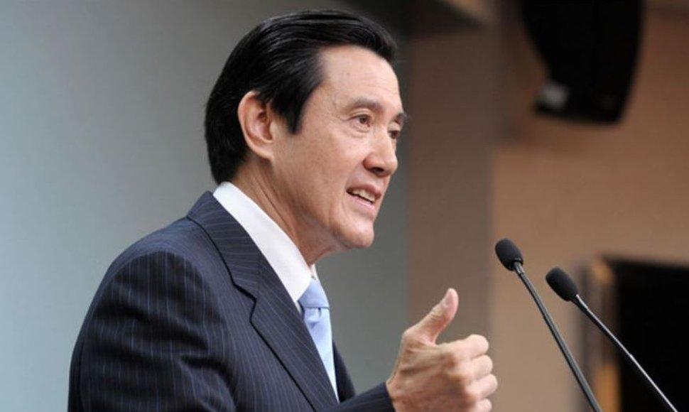 Ma Ying-Jeou, presidente de Taiwán, visitará Guatemala. (Foto Prensa Libre: Hemeroteca PL)