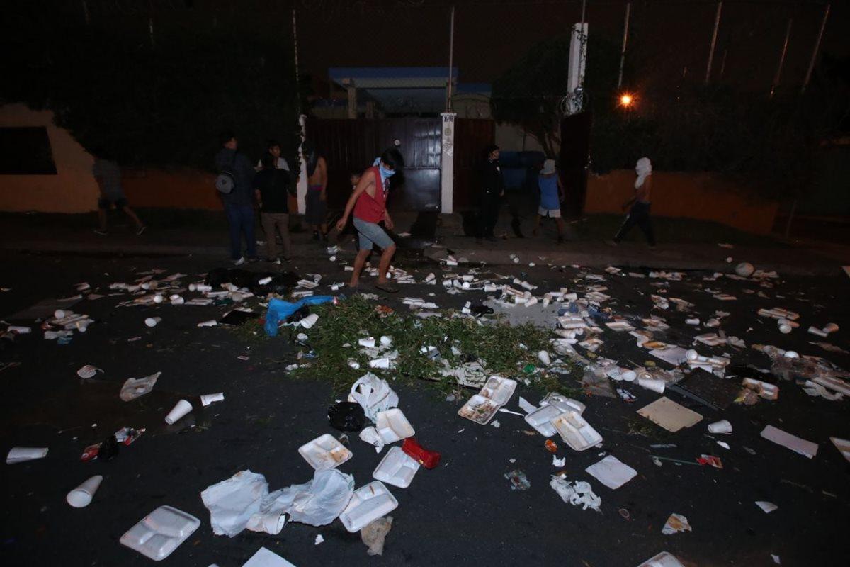 Menores causan disturbios en anexo del Hogar Seguro