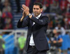Fernando Hierro buscará nuevos horizontes en su carrera como entrenador y dirigente deportivo. (Foto Prensa Libre: AFP)