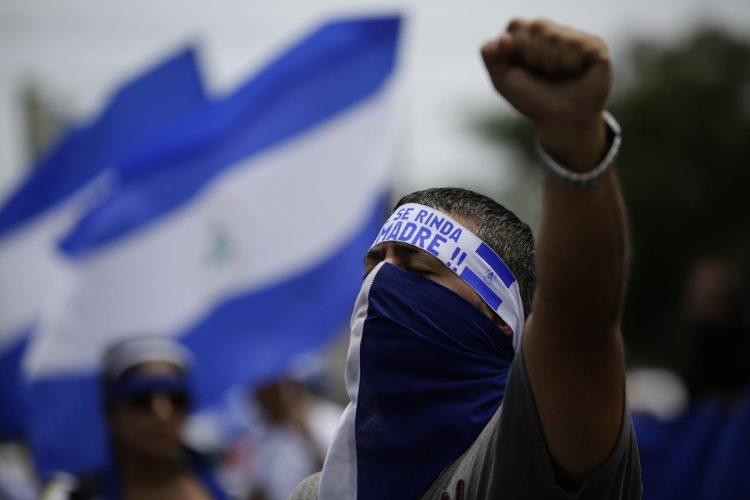 """""""Nicaragua no olvida, Nicaragua no se rinde"""", voces unidas contra las balas"""