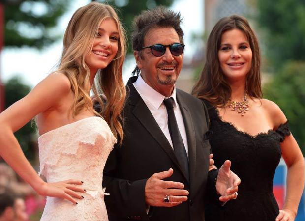 Camila Morrone, Al Pacino y Lucila Polak. (Foto Prensa Libre: AFP)