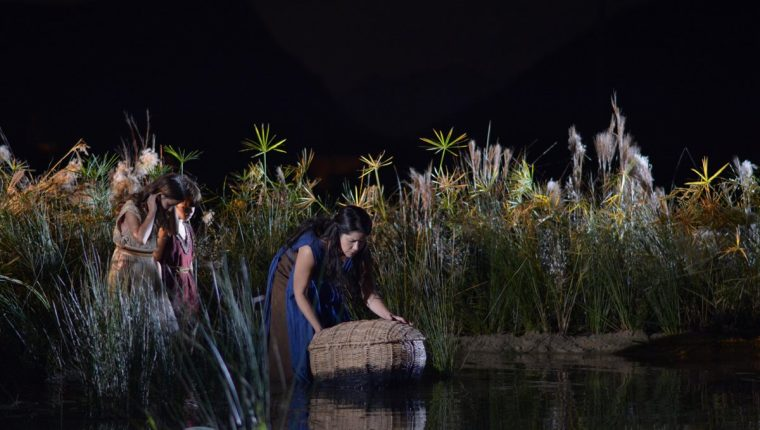 La historia bíblica de Moisés llega a la televisión