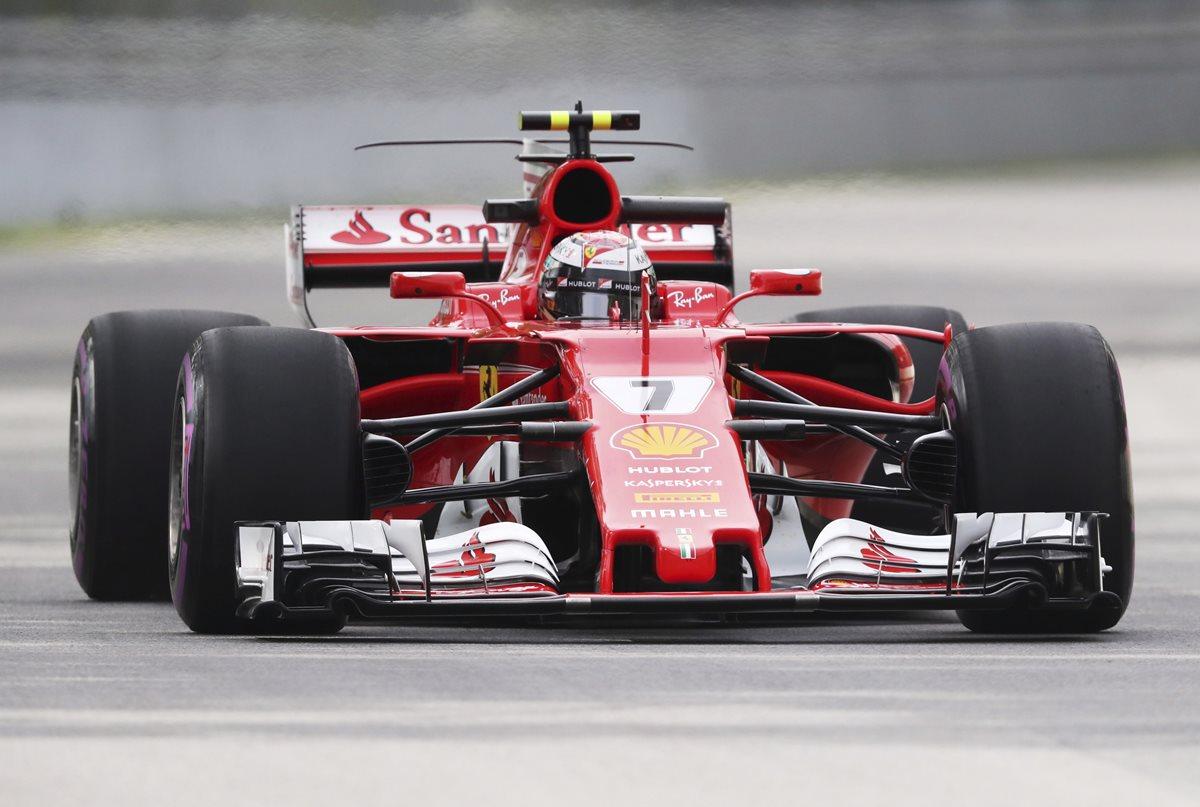 Raikkonen delante de Hamilton ensayos libres de F1 de Canadá