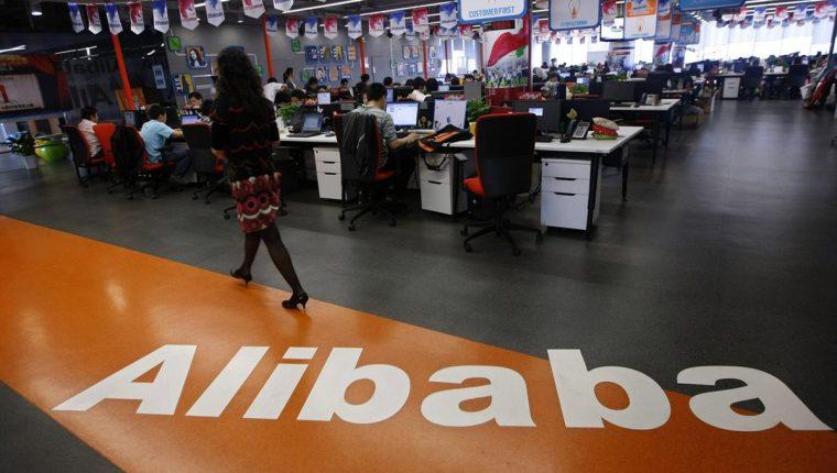 El grupo chino ha reportado un importante crecimiento en sus ventas por internet. (Foto Prensa Libre: scmp.com).
