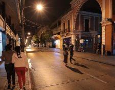 El Centro Histórico es una de las áreas afectadas por la criminalidad en la Ciudad de Guatemala. La PNC impulsa patrullajes para controlar la delincuencia. (Foto Prensa Libre: Hemeroteca PL)