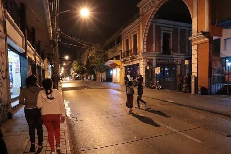Policía identifica áreas donde más ocurren asaltos en el Centro Histórico