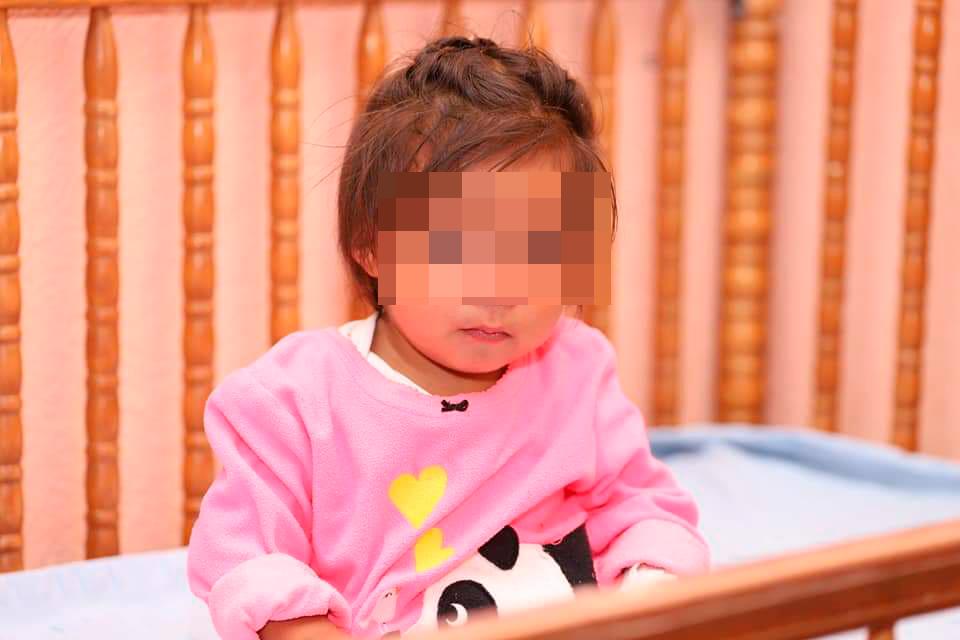 La menor fue localizada en lunes último en Santa Cruz del Quiché. (Foto Prensa Libre: Héctor Cordero).