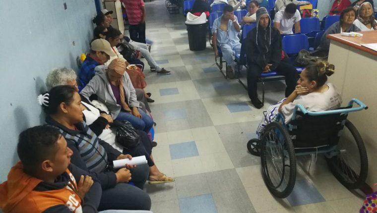 Hospital General San Juan de Dios reanuda atención en consulta externa. (Foto Prensa Libre: Estuardo Paredes)