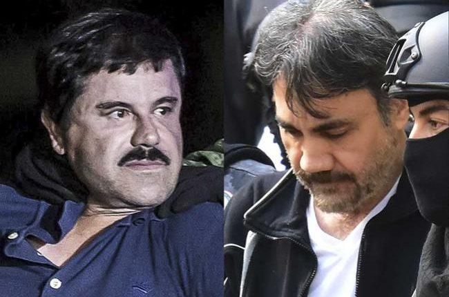 """El """"Licenciado"""" (derecha) llegó a ser considerado uno de los hombres fuertes del """"Chapo"""". (Foto: AFP)"""