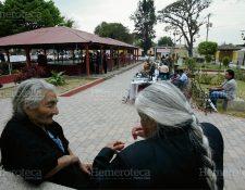 Parque de San Pedro Las Huertas, Sacatepéquez. (Foto: Hemeroteca PL)