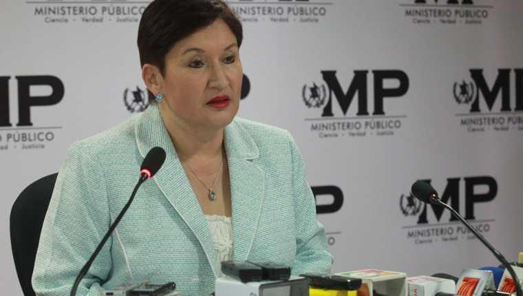Thelma Aldana, exfiscal general. (Foto Prensa Libre: Hemeroteca PL).