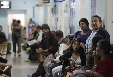 En el país los hospitales  son los más consultados, debido a la falta de insumos en centros y puestos de Salud.
