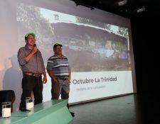 Líderes de la comunidad 15 de octubre La Trinidad mencionan que están a la espera de ser trasladados a un lugar definitivo, por ahora la mayoría de los damnificados están en los albergues. (Foto Prensa Libre: Óscar Rivas)