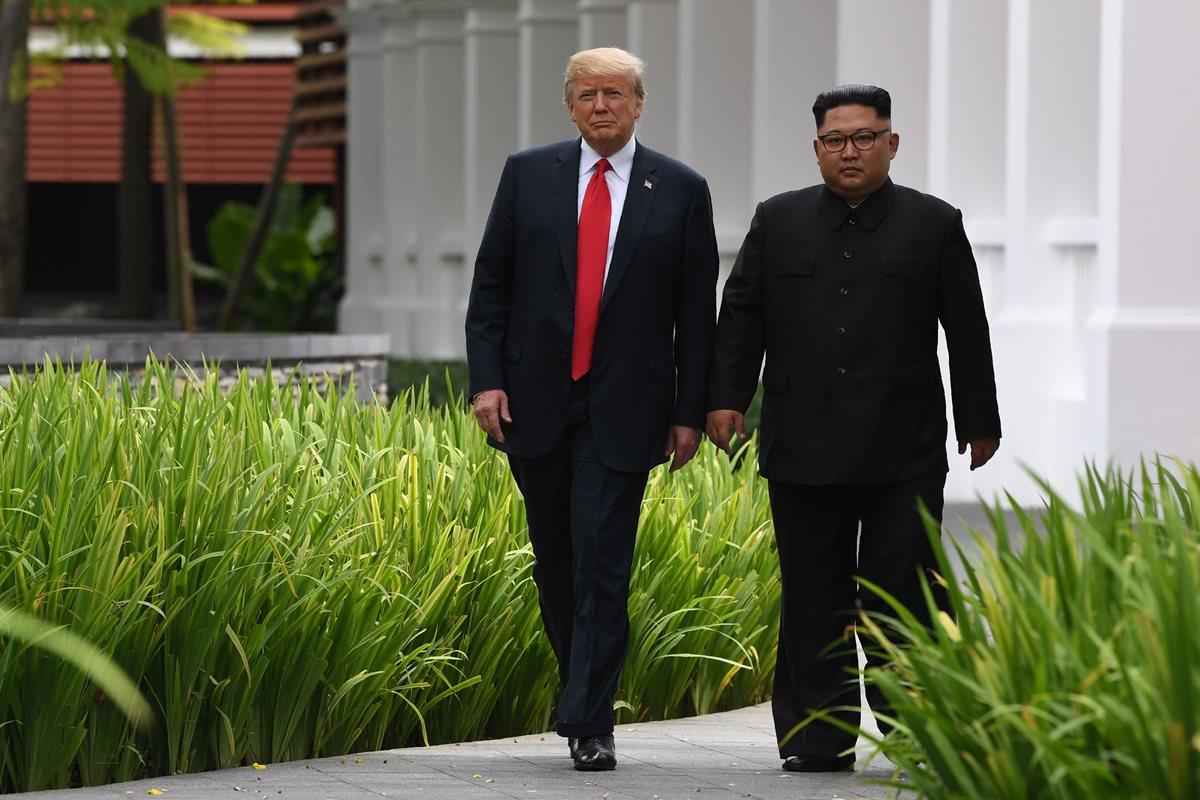 Trump y Kim abren nuevo capítulo luego de décadas de confrontación