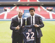 El futbolista español Jesé Rodríguez podría abandonar el PSG francés (Foto Prensa Libre: Hemeroteca PL)