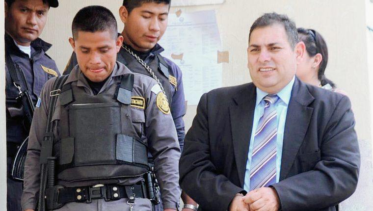 Carlos Roberto Monzón Morales, gerente de la mina San Rafael, queda en libertada, luego de resolución de la Sala Mixta de Apelaciones de Santa Rosa. (Foto Prensa Libre: Oswaldo Cardona)