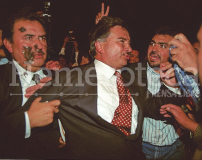 Portillo se llevó la peor parte al ser agredido. (Foto: Hemeroteca PL)