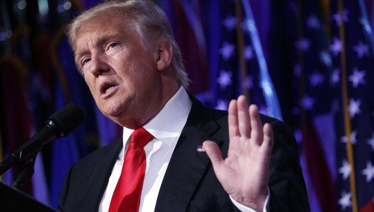 Donald Trump ha mantenido una tensa relación con los medios de comunicación de su país. (Foto Prensa Libre: AP).