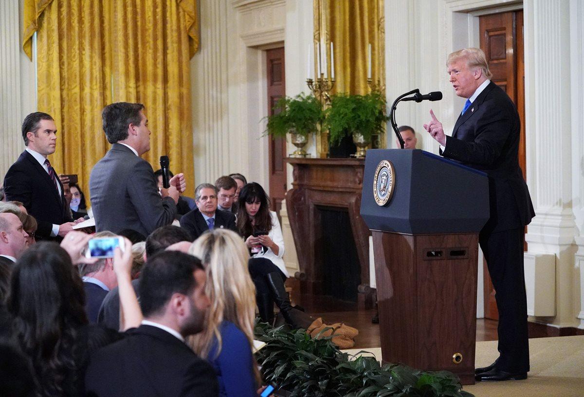 Preocupa a la SIP acto de censura contra periodista de CNN en Estados Unidos