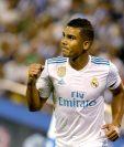 Casemiro se ha ganado a pulso su titularidad con el Real Madrid. (Foto Prensa Libre: EFE)