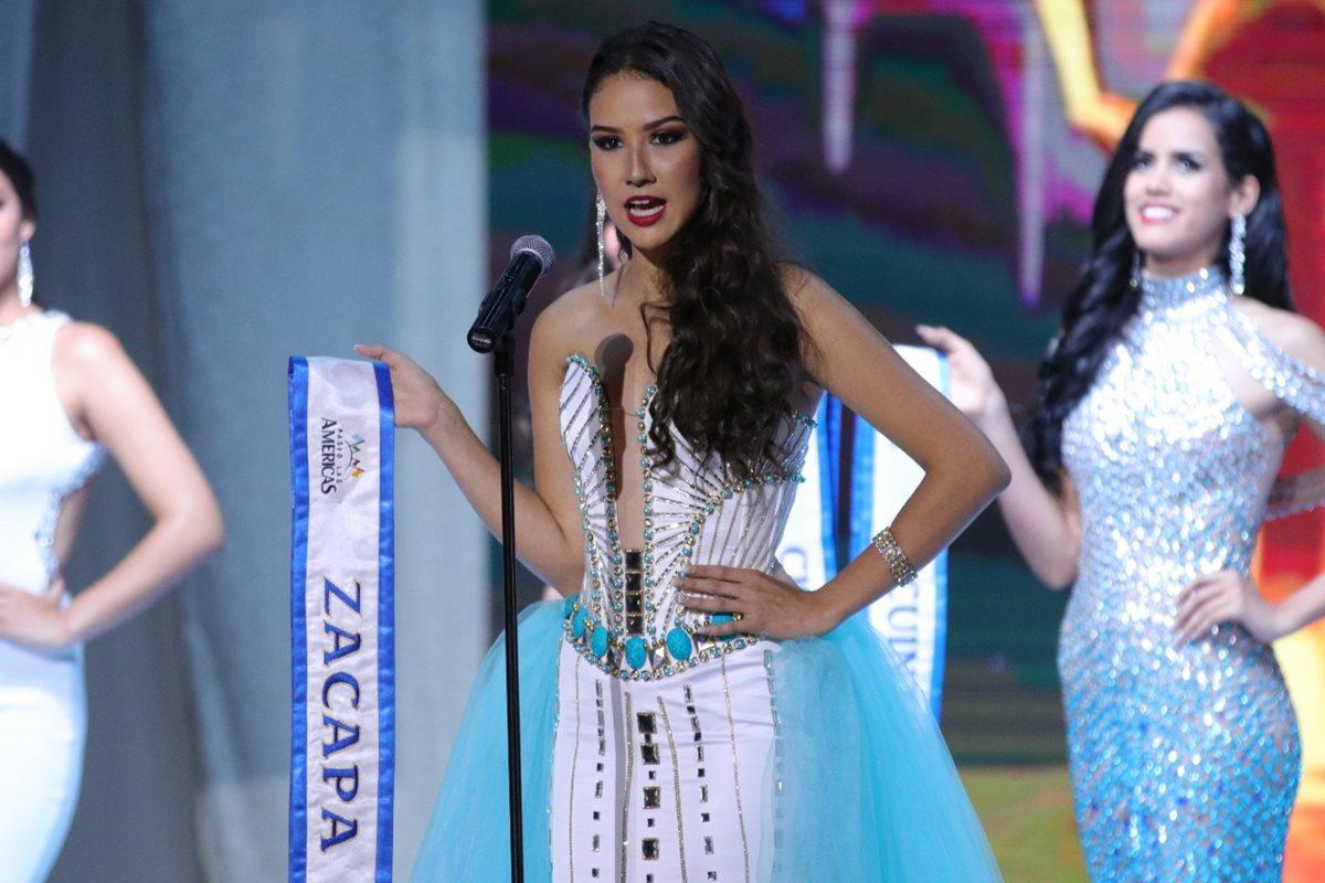 Adriana Victoria García Anleu, Zacapa. (Foto Prensa Libre: Raúl Juárez)