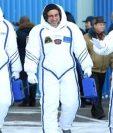 El astronauta Norishige Kanai (izquierda) despegó de la Tierra en diciembre hacia la Estación Espacial Internacional, para una misión de seis meses. REUTERS
