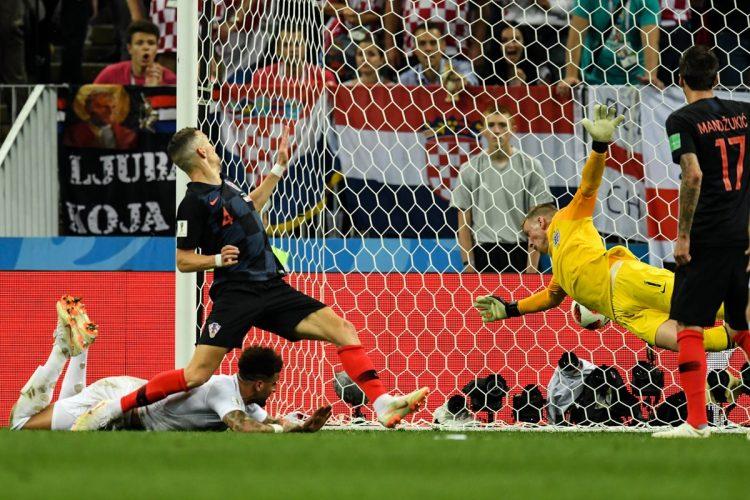 Iván Perisic anotó el gol que significó el empate para Croacia.