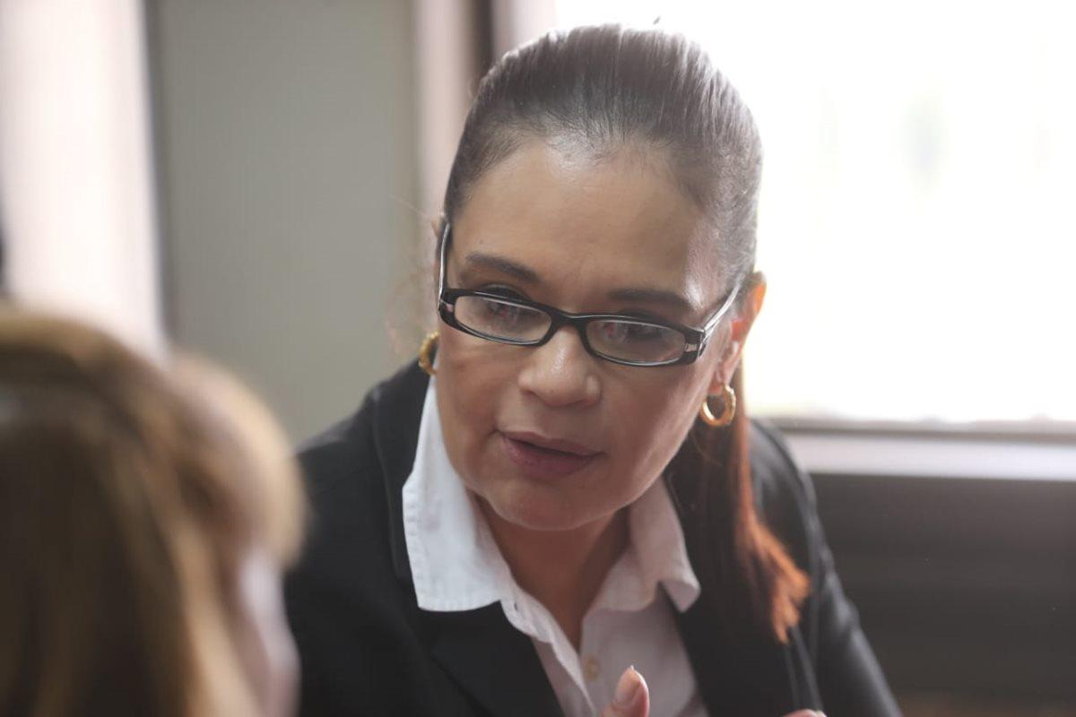 La exvicepresidenta Roxana Baldetti falló en su intento por impedir que el Juez de Mayor Riesgo B, Miguel Ángel Gálvez, siga conociendo el Caso de La Línea. (Foto Prensa Libre: Erick Ávila)