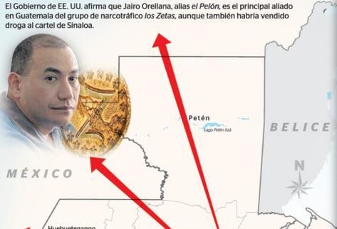 Orellana era parte de un aliado de los Zetas. (Foto Prensa Libre)