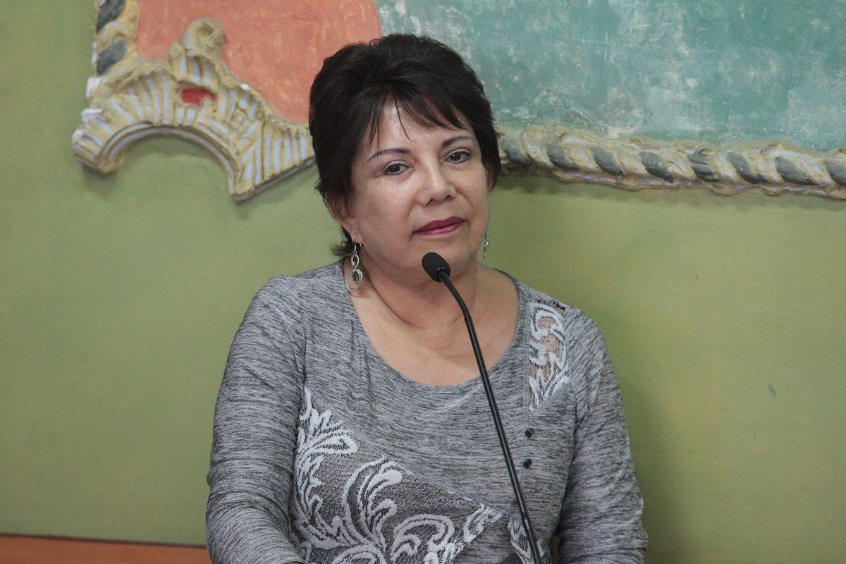 La magistrada del TSE, María Eugenia Mijangos (Foto Prensa Libre: Hemeroteca PL)