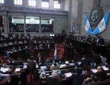 Congreso convocó a sesión extraordinaria este martes para liberar la agenda pendiente. (Foto Prensa Libre: Hemeroteca PL)