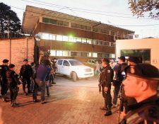 El 11 de diciembre fueron allanadas las instalaciones de la Digici en la Ruta 1 y 6a. avenida zona 4. (Foto Prensa Libre: Hemeroteca PL)