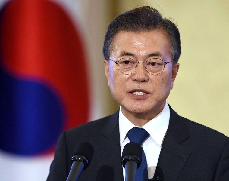 Moon Jae-in, presidente de Corea del Sur. (Foto Prensa Libre: AFP)