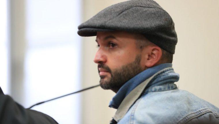 Diego Chacón Yurrita, es acusado por el MP y la CICIG de los delitos de asociación ilícita y lavado de dinero u otros activos. (Foto Prensa Libre: Carlos Hernández Ovalle)