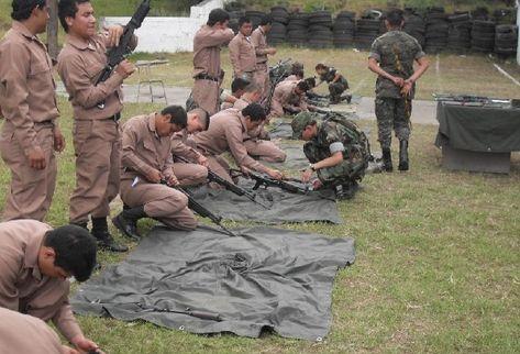 Jóvenes prestan servicio militar. (Prensa Libre: Archivo)
