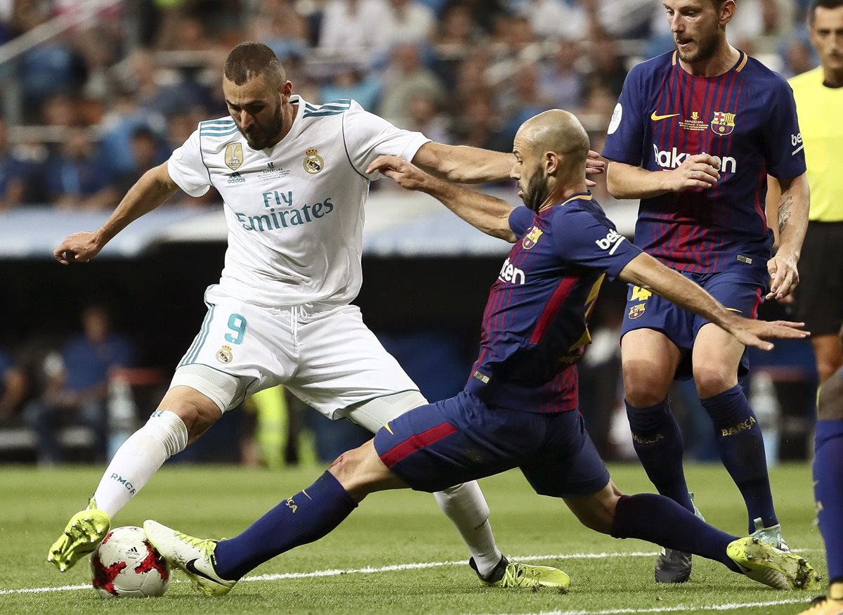 Karim Benzema también es de los jugadores más determinantes en el Real Madrid. (Foto Prensa Libre: EFE)