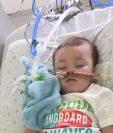 El niño británico Alfie Evans, de 23 meses de edad, sufría de una enfermedad degenerativa. (Foto Prensa Libre: EFE)