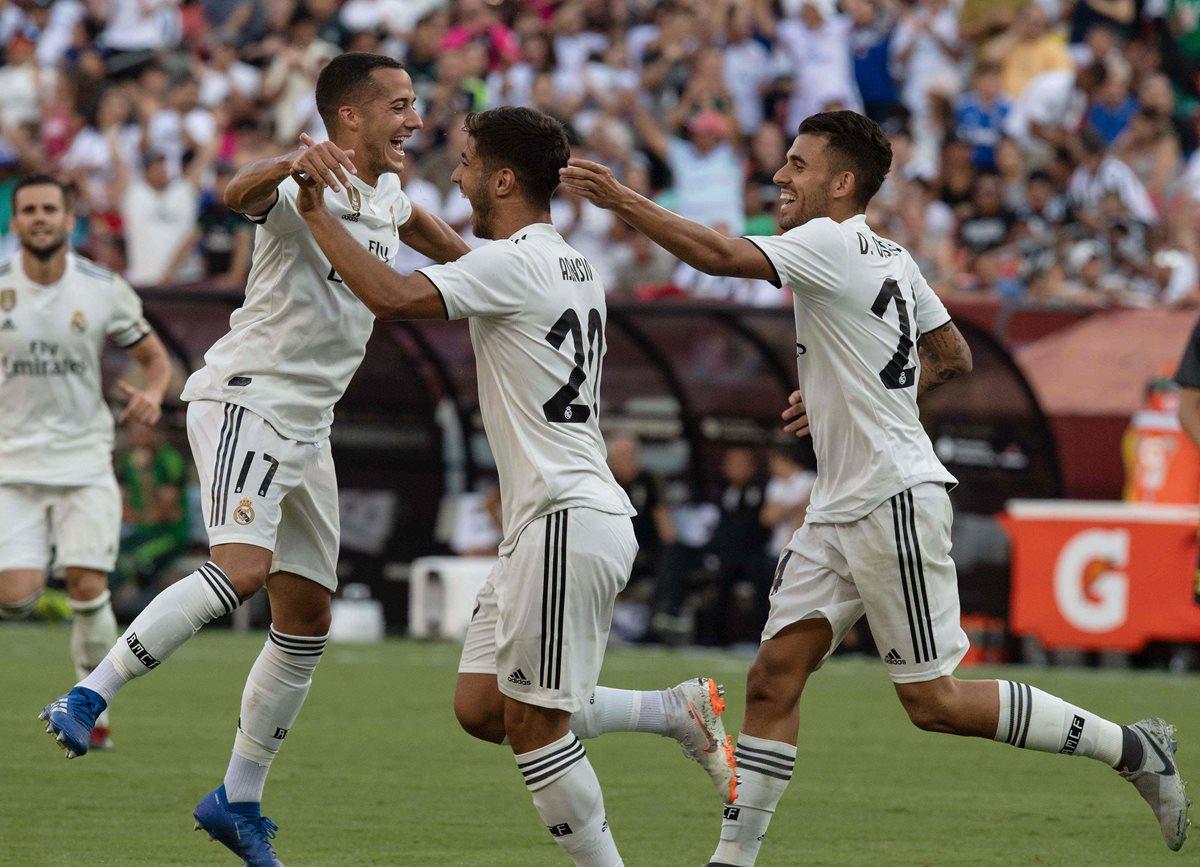 Asensio se luce con doblete en el triunfo del Madrid sobre la Juventus