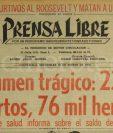 Titular de Prensa Libre del 10 de marzo de 1976. (Foto: Hemeroteca PL)